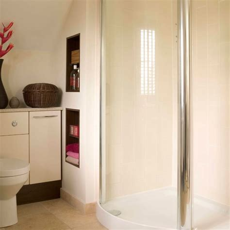 Small Space Bathroom Storage Create Storage In The Walls Storage Solutions For Small Spaces Housetohome Co Uk