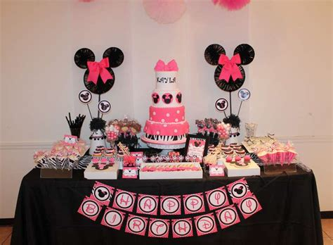 minnie mouse theme decorations minnie mouse birthday ideas photo 1 of 33 catch