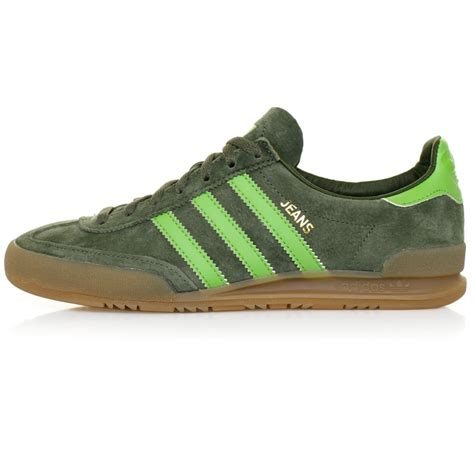 Green Suede Adidas Originals Green Suede Shoe