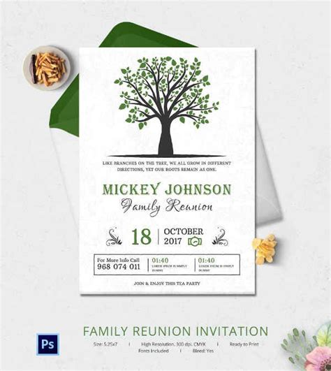 17 best ideas about family reunion invitations on