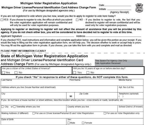 Dhs Background Check Form Voter Registration Form Nsp 0938 B