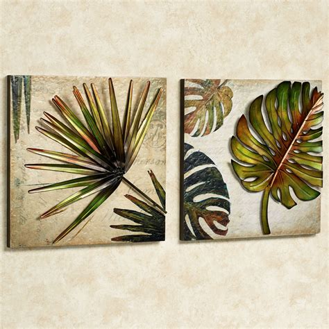 Patio Table Clearance Tropical Impressions Dimensional Wall Art Set