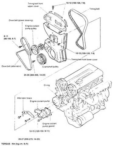 1998 toyota camry water diagram 1998 free engine