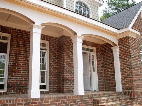 exterior house pillars design how to design porch with exterior porch columns lighthouseshoppe decks