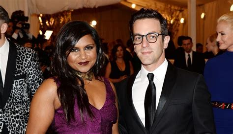 Mindy kaling pregnant is the office co star b j novak the father