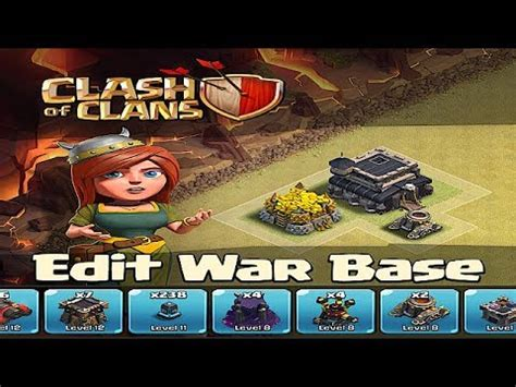 Clash Of Clans Layout Editor Not Saving | clash of clans war edit mode save your base layout