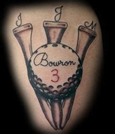golf ball tattoo golf tribute tattoos by garry deronda
