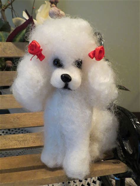 Vintage French Home Decor french poodle by designs by karen at the toy shoppe
