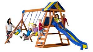 backyard discovery swing set playset playhouse
