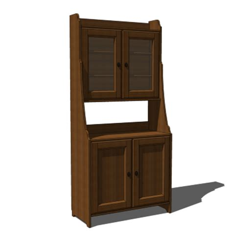 Dining Room Hutch Ikea Ikea Leksvik Buffet With Cabinet 3d Model Formfonts 3d
