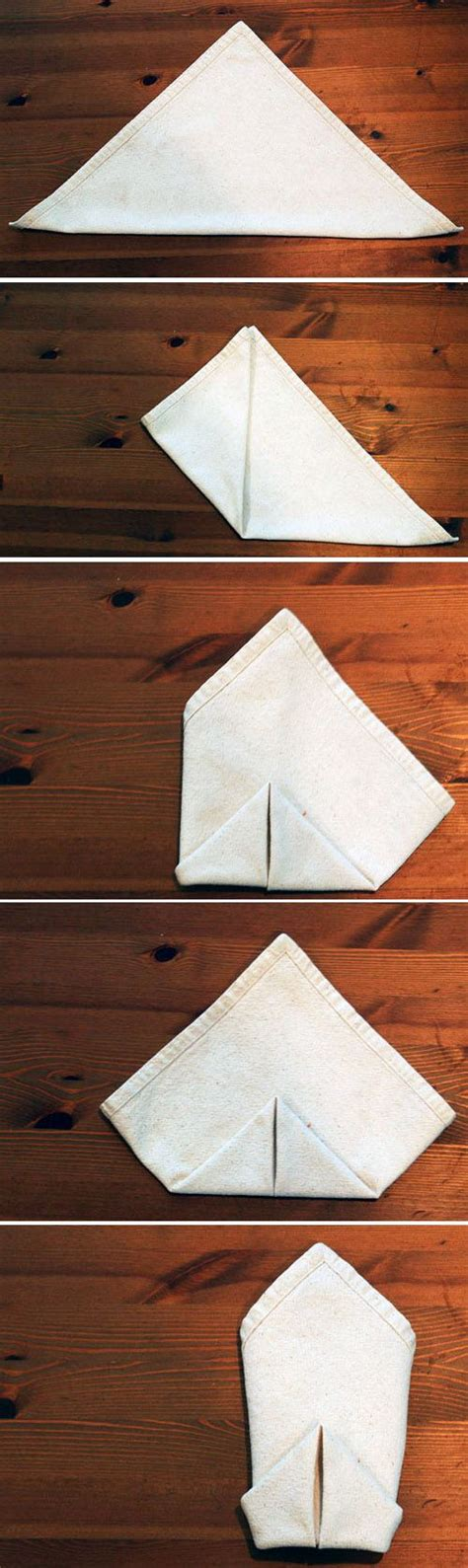 Creative Ways To Fold Paper Napkins - modern ways to fold napkins 陂erve陋ele nunta