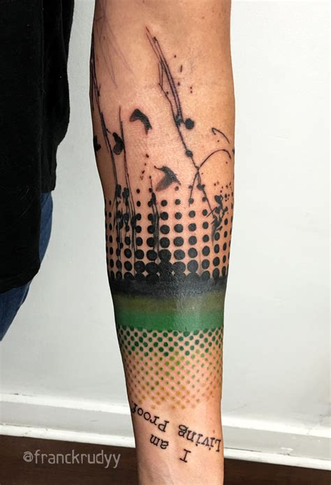 graphic tattoos frank rudy