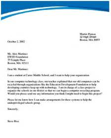 official letter writing sample best letter sample free