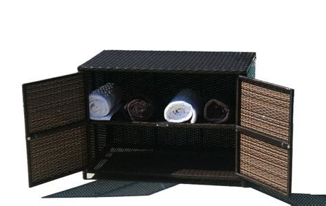 outdoor wicker tv cabinet storage cabinets pool storage cabinets