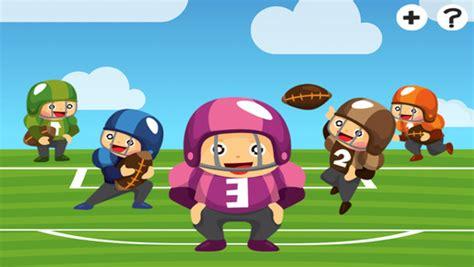 imagenes de niños jugando futbol americano american football learning game for children learn for