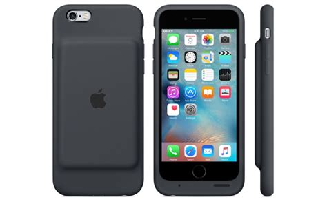 apple battery case apple launches smart battery case for iphone 6 6s gets