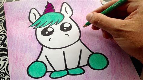 imagenes kawaii para dibujar de unicornios como dibujar un unicornio how to draw a unicorn como