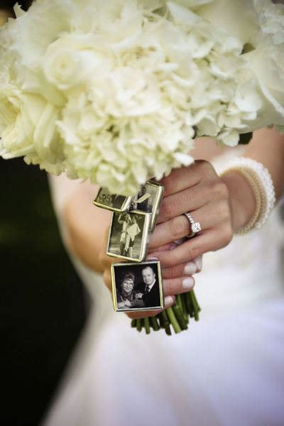 4 kits to make your own wedding bouquet charms photo pendants