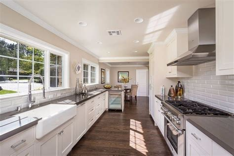simple white galley kitchen traditional kitchen how to pick the right kitchen layout for your home
