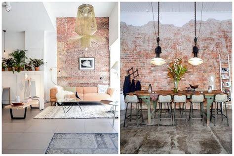 Mur De Brique Salon by Un Mur En Brique Pour Donner Un Style Industriel 224 Votre