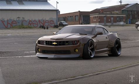 widebody chevy truck widebody kit for chevy camaro modeling and visualization
