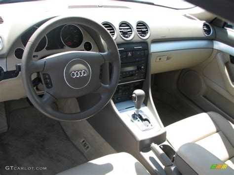 2006 Audi A4 Interior by Beige Interior 2006 Audi A4 1 8t Cabriolet Photo 39768330