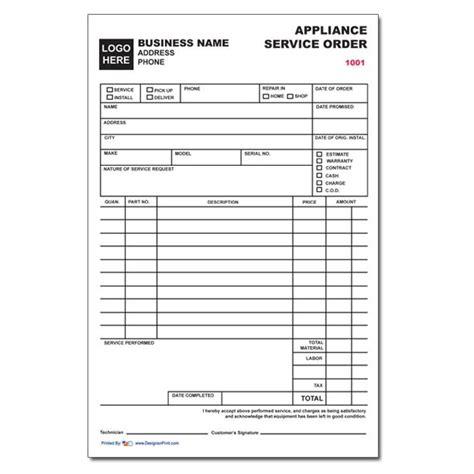 free printable repair invoice download service repair order template rabitah net