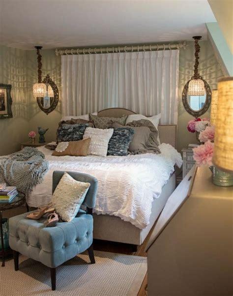 Marvelous Chambre Romantique Blanche #4: Chambre-adulte-romantique-Shabby-Chic-moderne.jpg