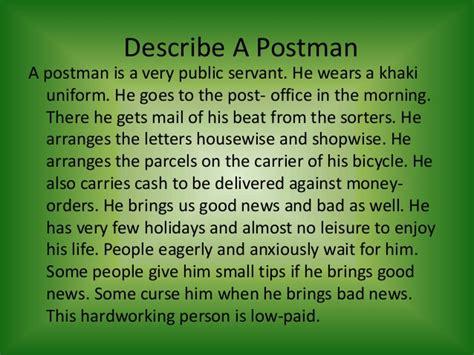 Postman Essay by Generosity Essay In Docoments Ojazlink