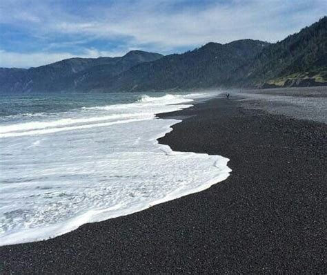 black sand california shelter cove black sand ca all things california