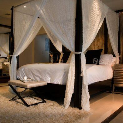 beds with curtains around them 25 best ideas about 4 post bed on pinterest