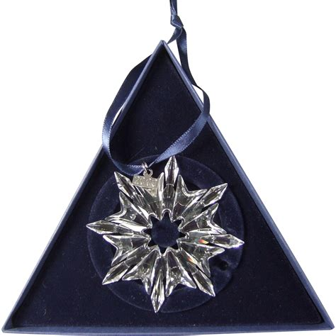 2003 swarovski crystal snowflake annual edition christmas