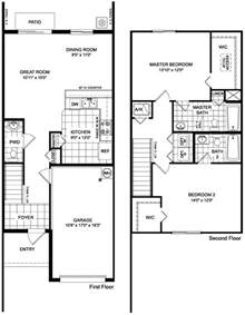 Townhouse Building Plans Martins Crossing Askew Floor Plan Townhouse Design