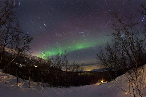 best places to see the northern lights lapland sweden