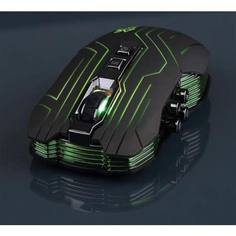 Mouse Ghost Shark Aokdis Led Optical Wired Gaming Mouse 3200 Dpi Js ghost shark aokdis led optical wireless gaming mouse 9d