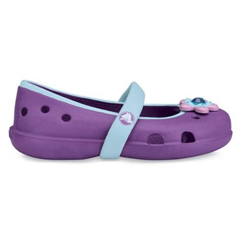 croc style shoes for crocs keeley dahlia sky blue slip on ballet flat