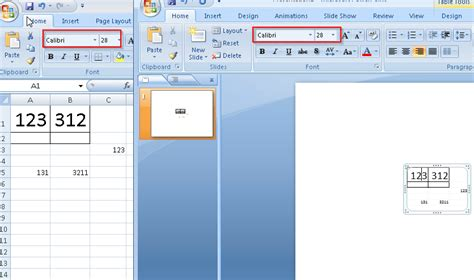 copy format excel 2007 how to copy from excel to powerpoint as formatted text and