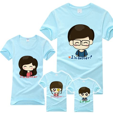 Matching Shirts For Cheap 2014 Custom Special Family Matching Clothing Wholesale