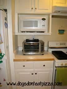 Kitchen Cabinet With Microwave Shelf by The Finished Kitchen Renovation Dogs Don T Eat Pizza