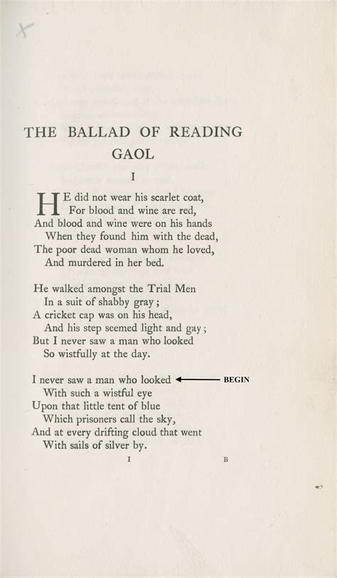 ballad of reading gaol books victorians and the self cultural contexts for dr