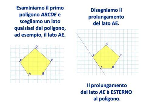angoli interni poligoni angoli e poligoni convessi e concavi