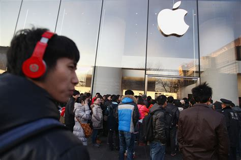 apple china china takes a bite out of apple business economy al