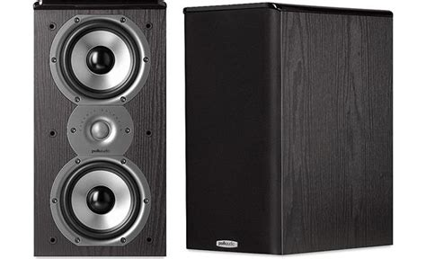 polk audio tsi200 black bookshelf speakers at