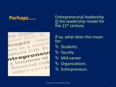 Northeastern Mba Questions by Lucash Entrepreneurial Leadership Present