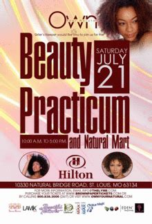 beauty convention st louis own your natural st louis mo