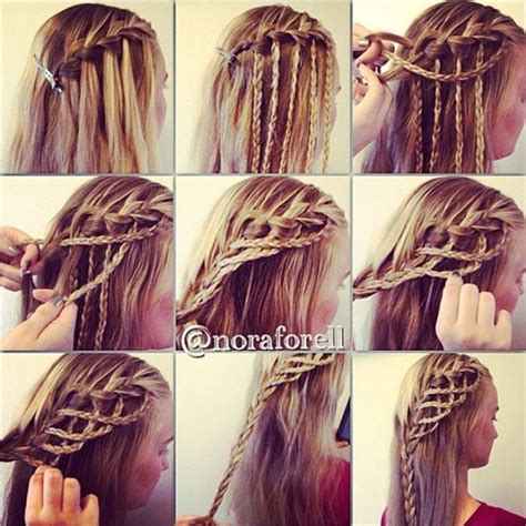 how to do awesome hairstyles amazing hairstyle rope braid alldaychic