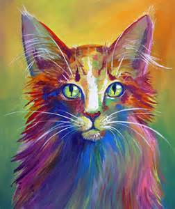 colorful cats colorful cat 6 by san t on deviantart