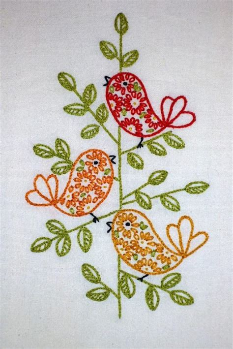 Handmade Embroidery Design - 17 impeccable embroidery designs sewing tips ideas
