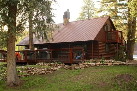 Cabins In Durango by Ponderosa View Of Cabin Front Picture Of O Bar O
