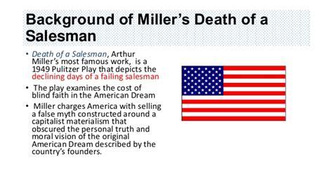 death of a salesman dreams theme death of a salesman stop burying your dreams